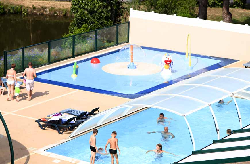 Camping in Vendée with swimming pool