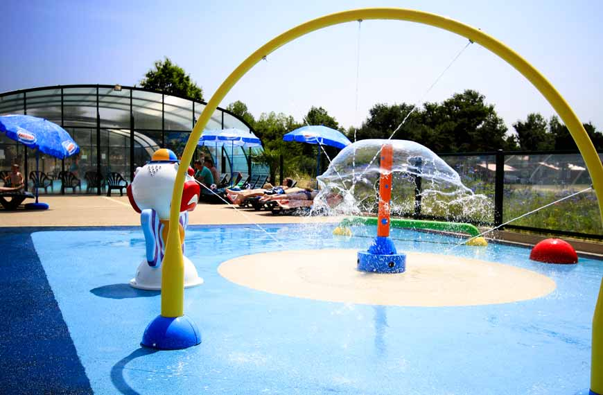 Camping swimming pool Vendée