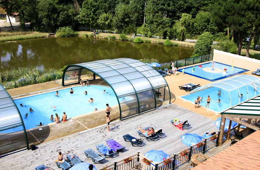 Camping with swimming pool Vendée