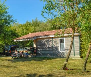 location chalet jardin vendée
