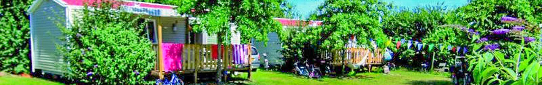 location cottage prairie camping vendée